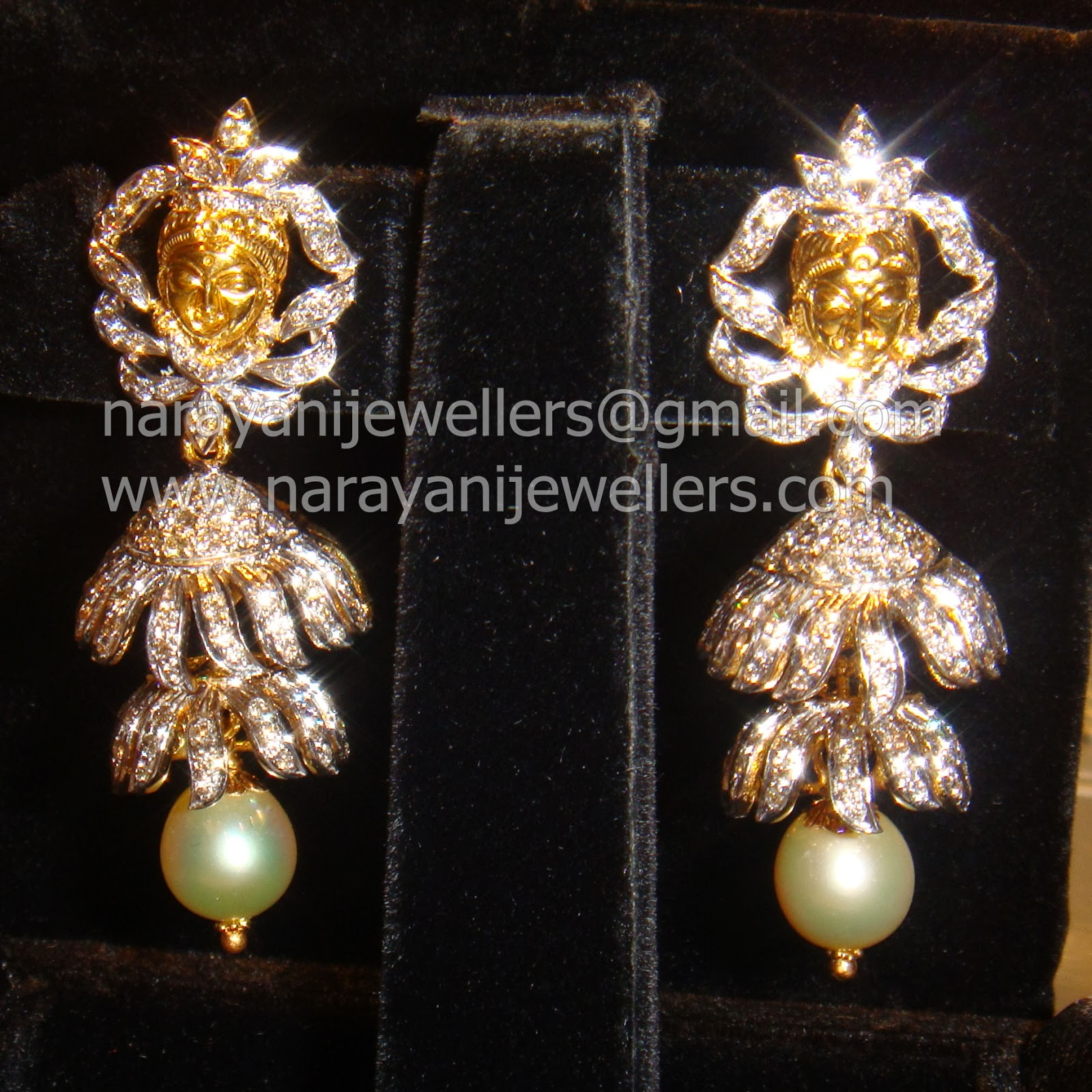 latest indian jewellery designs diamond buttalu