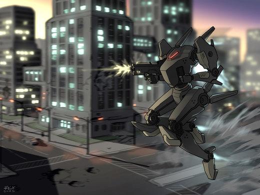 Mech Combat por Usagisama