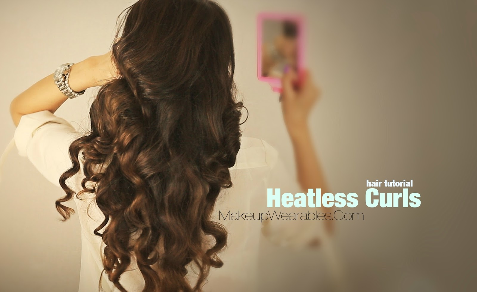 Hairstyles For Long Hair No Heat : your hair without heat cute curly hairstyles for medium long hair ...