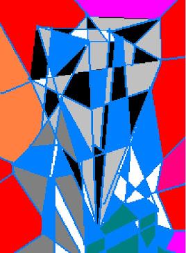 Azul vidriado