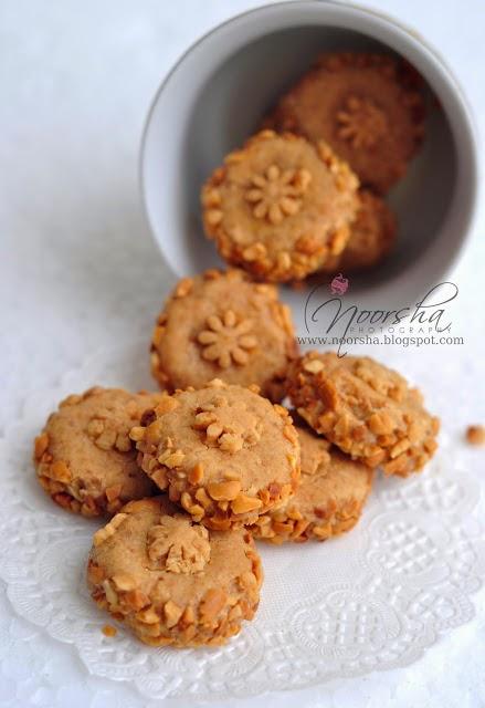 Resepi Biskut Peanut Butter Choc Chips Tanpa Tepung