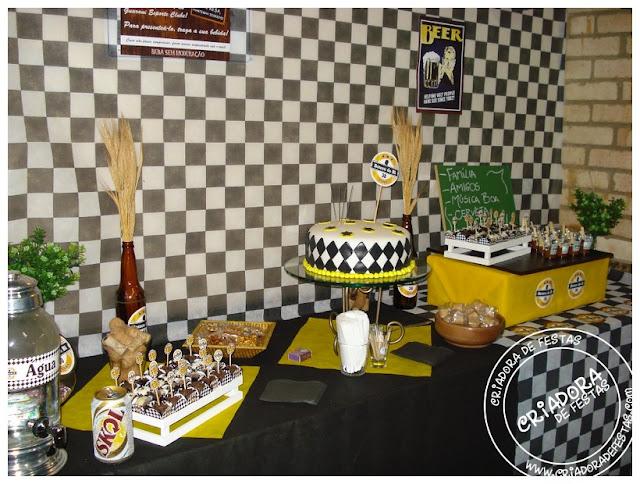 Decor Arte Decoração festa aniversário masculino e adulto!
