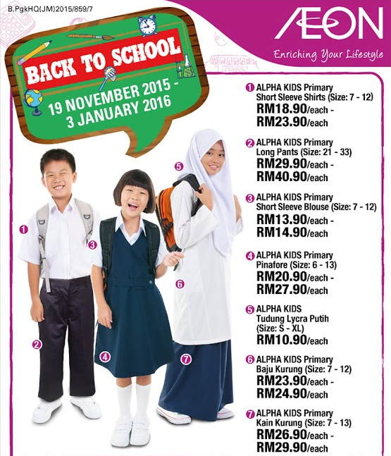 Oct 08, · From Tesco, you will find the Signature and Signature Premier School Uniforms. Here is the Tesco Store Locator to help you find the nearest Tesco Store near you. From Aeon, you will find Alpha Kids. Here is the Store Locator For Aeon; Unione Brand School Uniforms. Unione is available online here. It is a Penang based paydayloansboise.gq: Parenting Times.