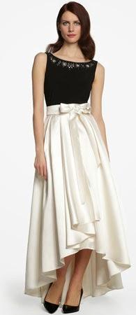 vestido largo El Corte Inglés para invitada de boda