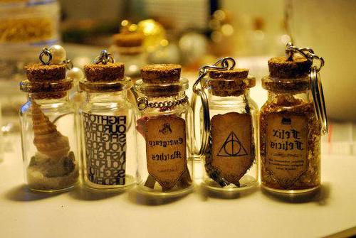 ведьмина бутыль с булавками