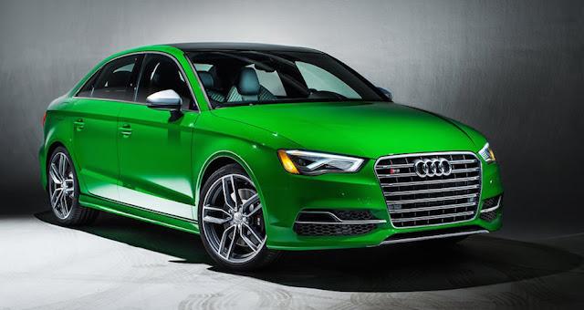 アウディS3 カラー グリーン