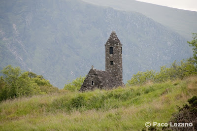 Glendalough church