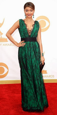 Sarah Hyland, 2013 Emmys, red carpet, awards show