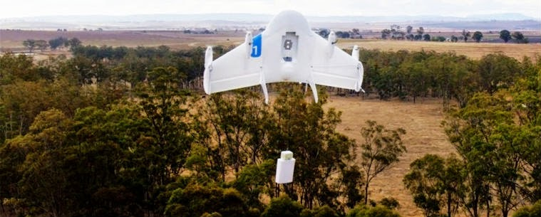 كل ما تحتاج معرفته عن مشروع Google Project Wing لـ إيصال البضائع بطائرات بدون طيار