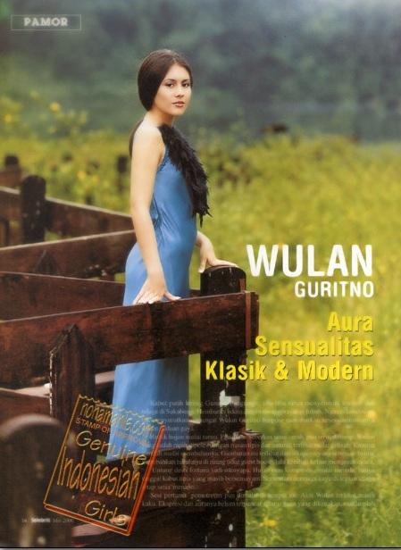 collection sexy women: Bibir Sexy Wulan Guritno