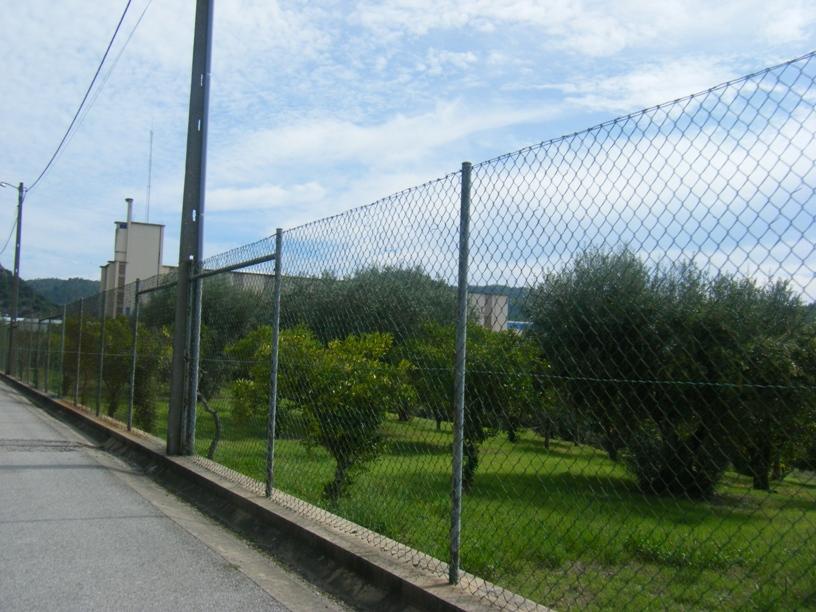 Barragem de Belver - vedação