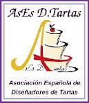 Yo pertenezco a la Asociación Española de Diseñadores de Tartas