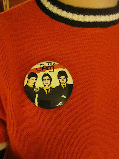 vintage the jam power pop mod badge pinback button pin