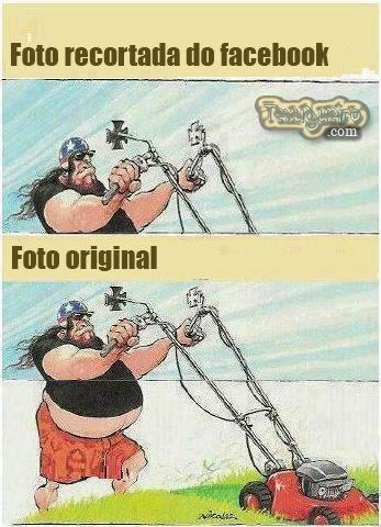 COMO SÃO AS VERDADEIRAS FOTOS DO FACEBOOK