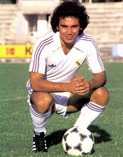 Hugo Sanchez as Real Madrid player