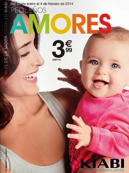 catalogo kiabi ropa de bebe enero 2014