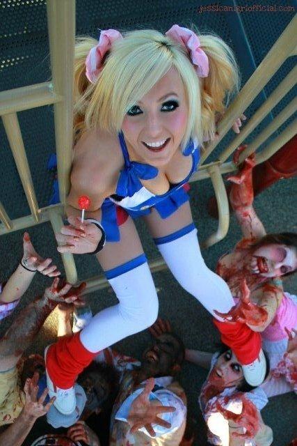 Ảnh gái xinh khoe bưởi trong lễ hội Cosplay 30