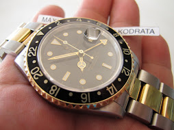SOLD ROLEX GMT MASTER II TWO TONE - ROLEX 16713 SERIE N