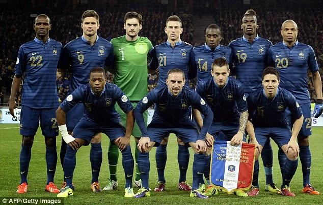 Prancis Tidak Boleh Tertekan di Piala Dunia 2018