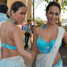 Kashmira Shah in Saree  Spicy Photo Set