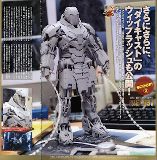 Hot Toys Iron Man 2 - Diecast - Whiplash Mark Mk 2 - Prototype Pics