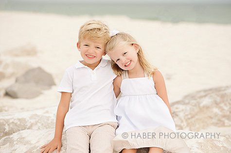 Kids Photo Session on the Beach