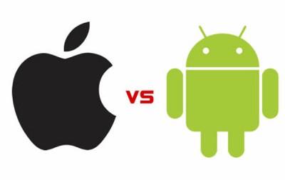 Android Kalahkan Jumlah Tayangan Iklan iOS