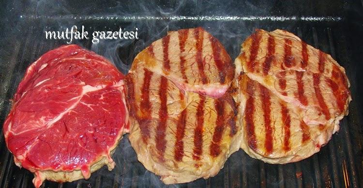 ızgarada et tarifi