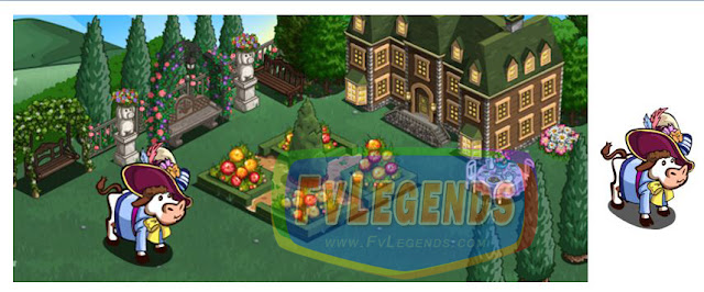 FarmVille English Garden Theme - FvLegends.Com