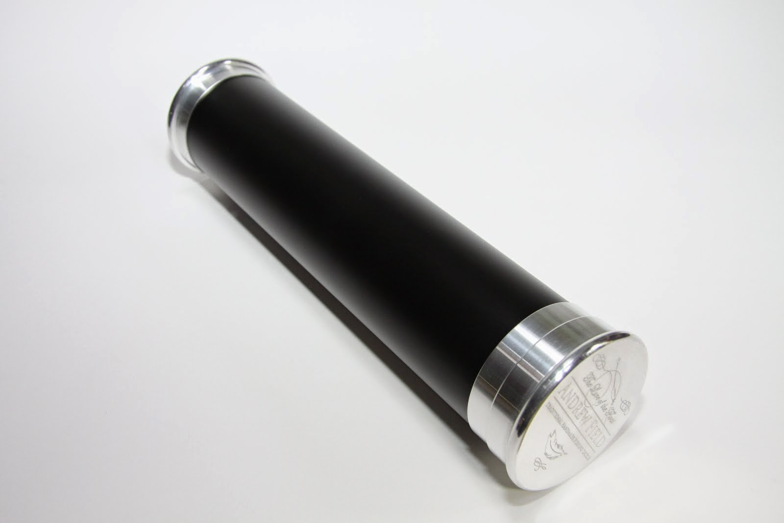 Black Aluminium Float Tube