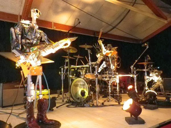 Download Band Robot Compressorhead, Beraliran Metal