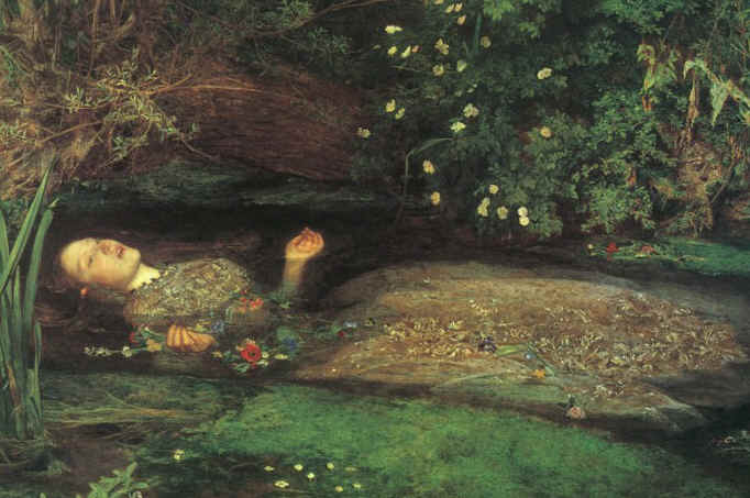 Ofélia ( Hamlet, Shakespeare) - John Everett Millais