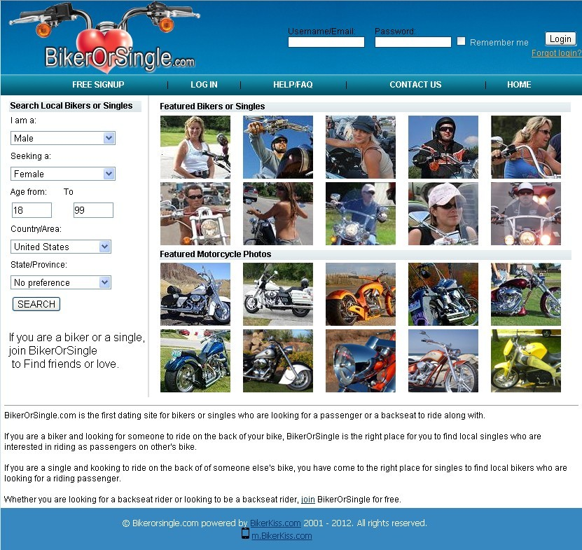 The Best Biker Dating Site | Biker Soul