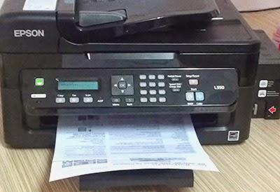 epson l550 printer installation