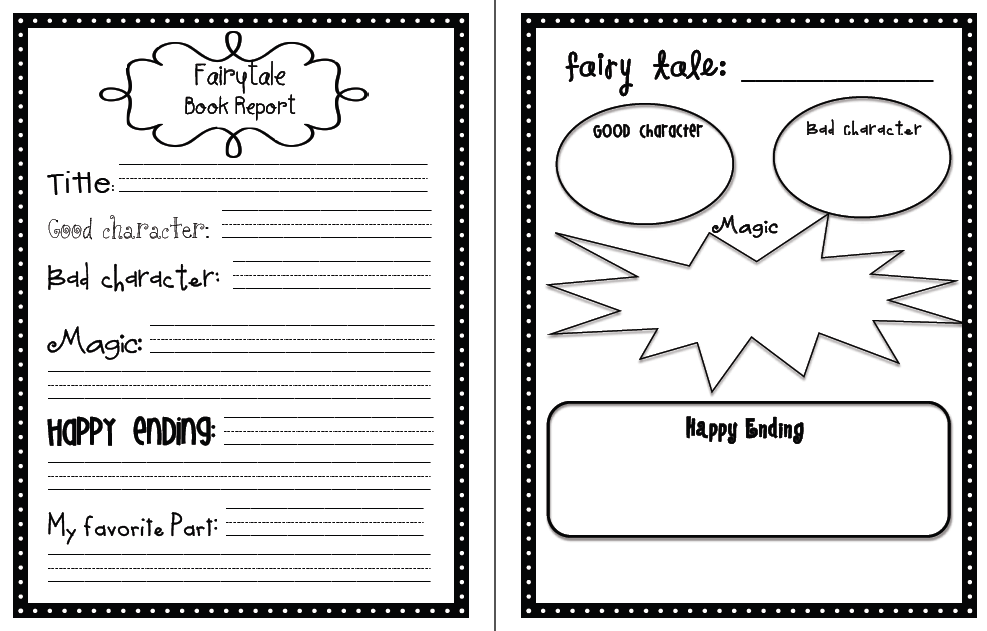 book report cover page template .