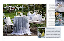 """Sommertisch im Shabby Chic"" by LISA LIBELLE"