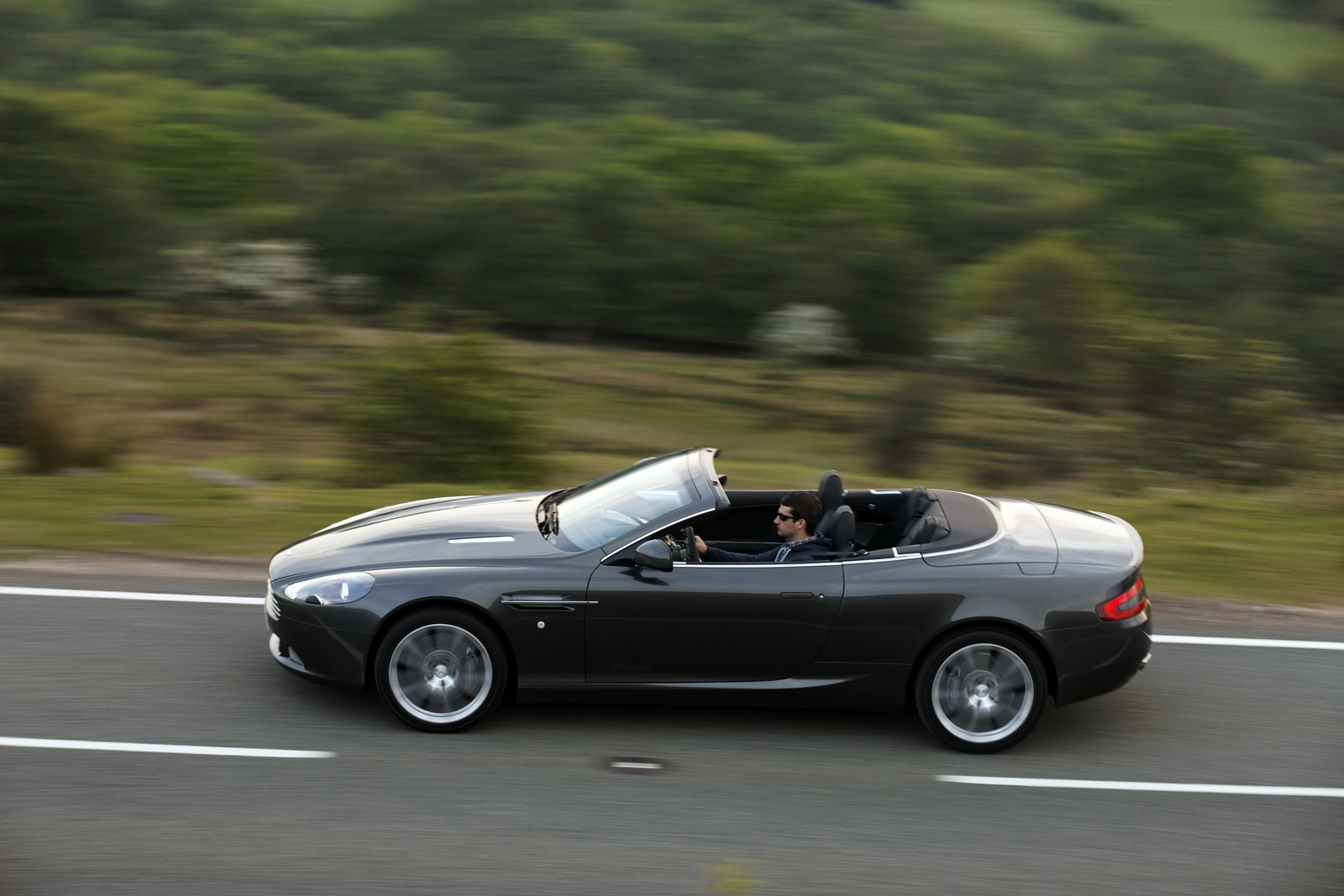 Sports Car Aston Martin Db9 Black