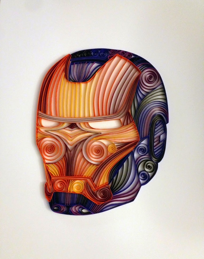 08-Iron-Man-Alia-AliaDesign-Sci-Fi-and-Superhero-Paper-Quilling-www-designstack-co