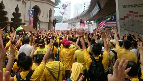 Foto Perhimpunan Bersih 4.0 Kuala Lumpur 2015