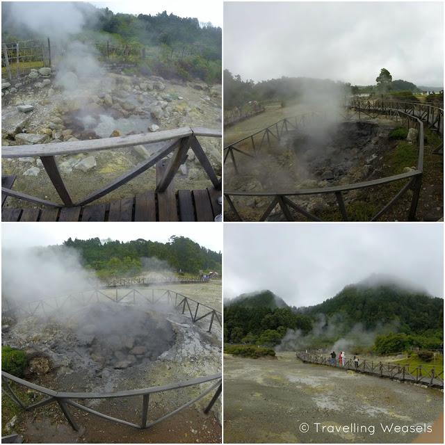 Vulkanischer See Azores