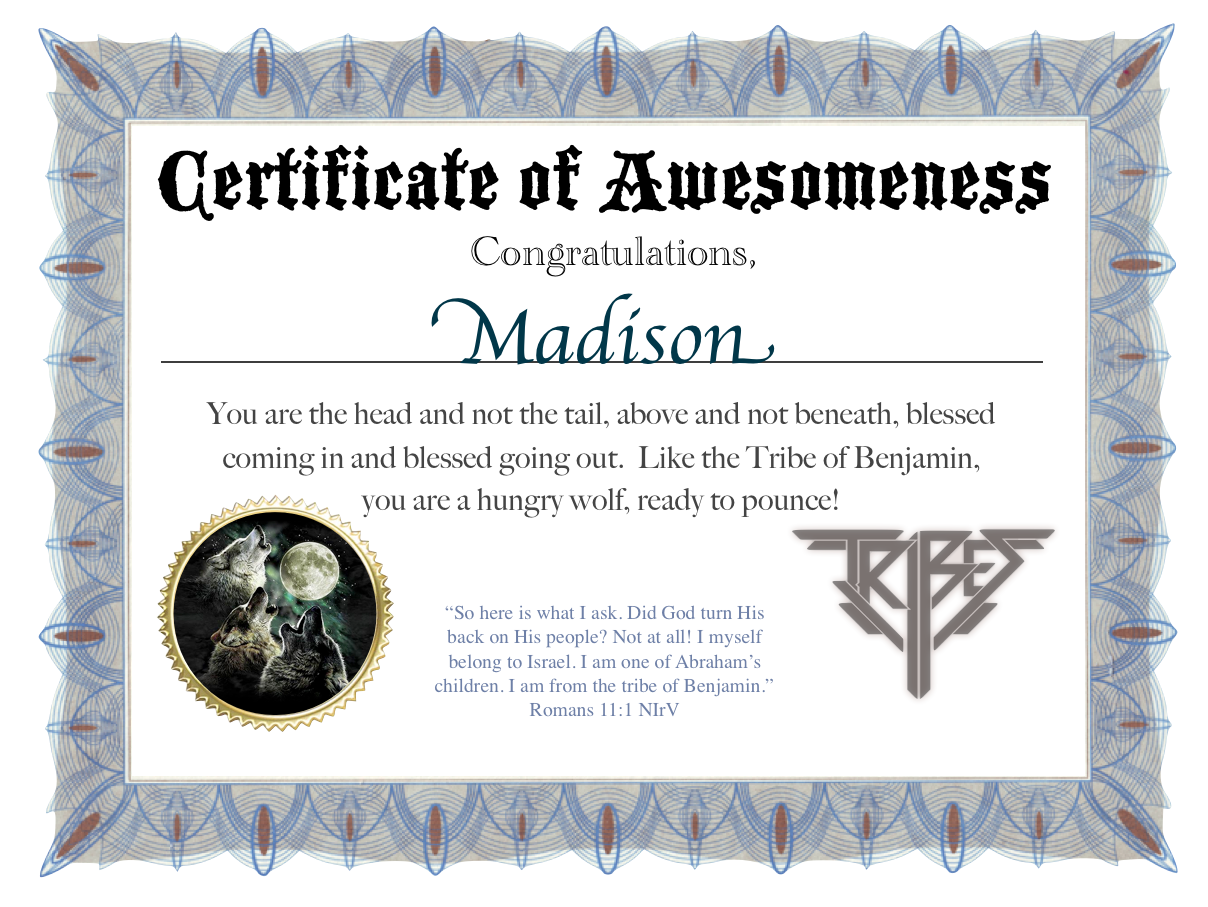 Certificate of awesomeness craftbnb for Certificate of awesomeness