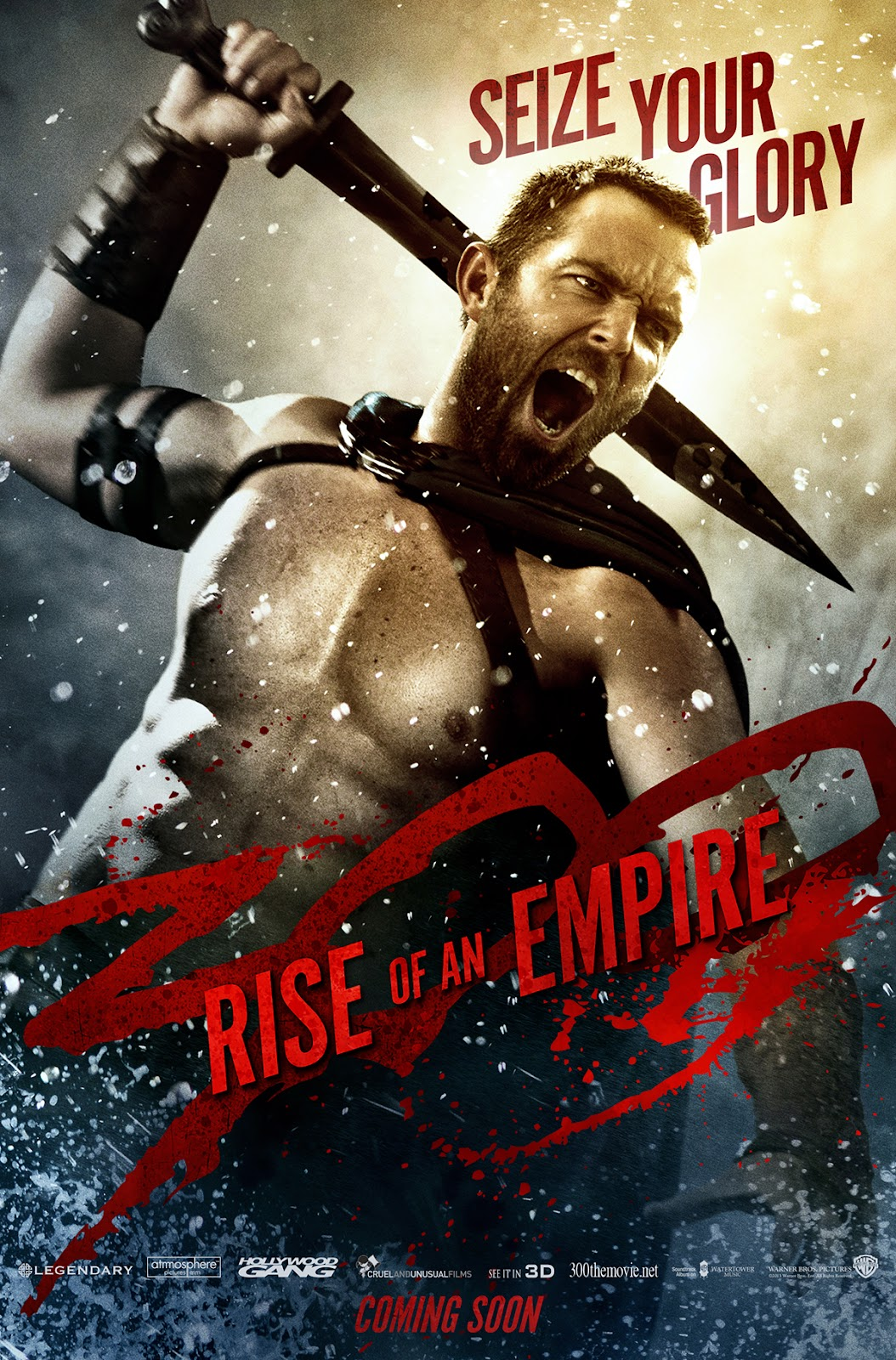 300: RISE OF AN EMPIRE Sullivan Stapleton as Themistocles - SEIZE YOUR GLORY!