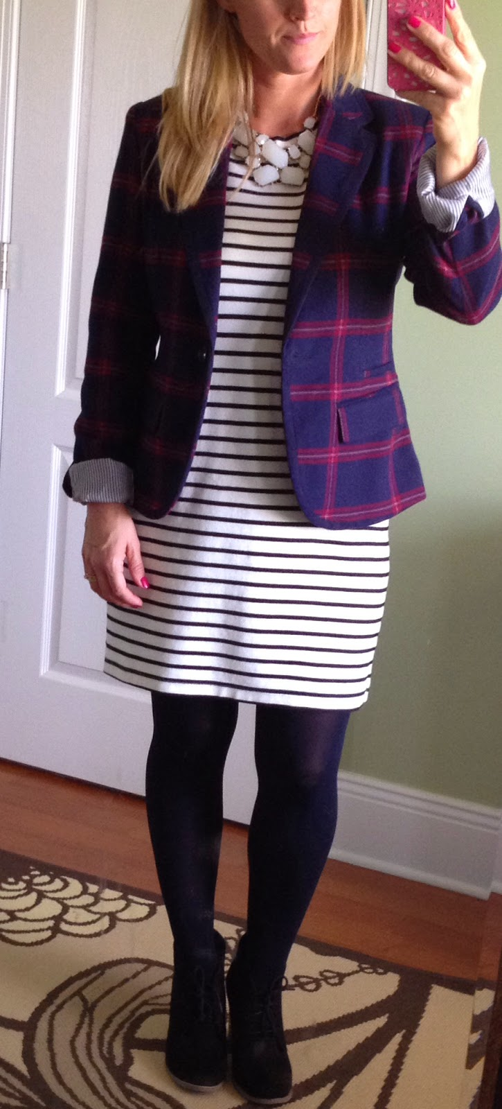 Winter Womens Workwear Tartan and Stripes