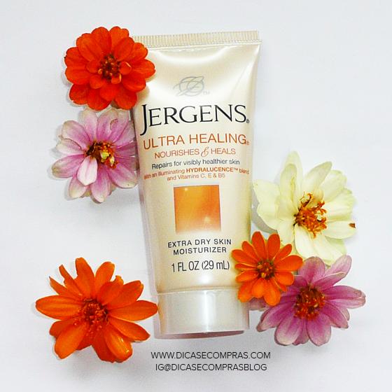 Resenha: Jergens Ultra Healing Extra Dry Skin Moisturizer - hidratante super cheiroso e maravilhoso