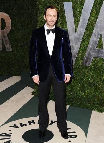 Look Tom Ford Oscar 2012