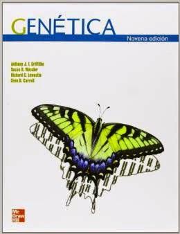"""Carátula del libro """"Genética"""""""