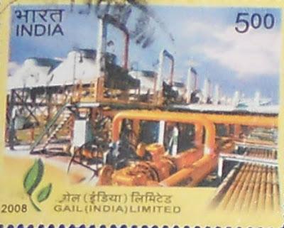Philately-Gas  Authorit of India Limited GAIL