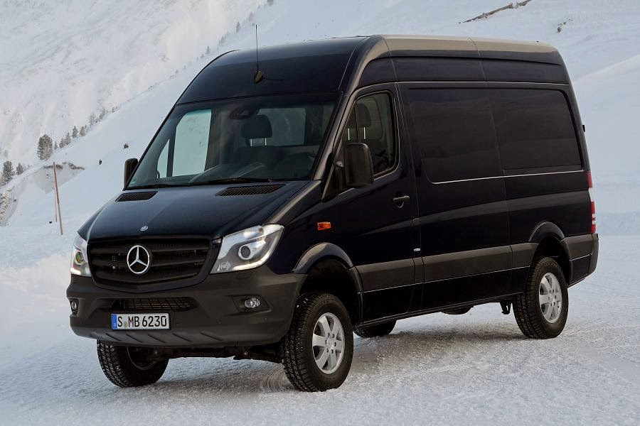 2014 mercedes benz sprinter 4x4 launched autoesque. Black Bedroom Furniture Sets. Home Design Ideas