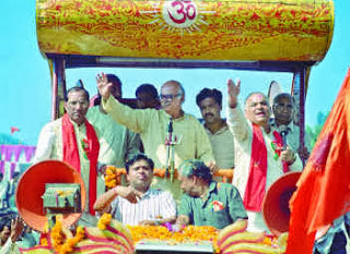 BJPs Rath Yatra with L K Advani