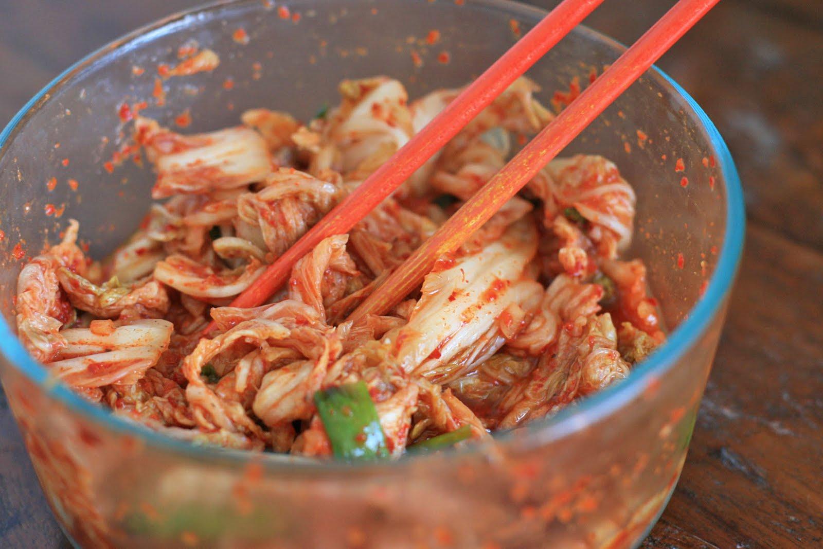 Basic Napa Cabbage Kimchi (Kimchee) Recipe — Dishmaps